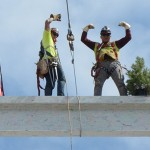 Photos capture final beam placement for Utah Valley Hospital's new Patient Tower