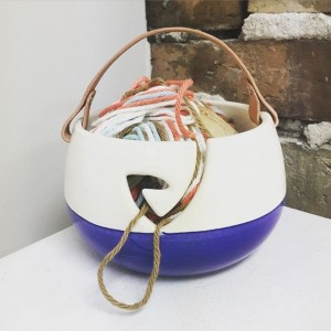 Yarn bowls made by Melware Ceramics make a knitter's life easier. They're among the gifts available at Here Provo, which opens Thursday, June 30, in downtown Provo. (Photo courtesy of Here Provo)