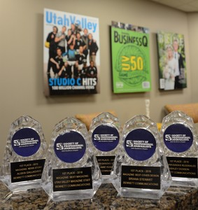 The Utah chapter of the Society of Professional Journalists judged and awarded these annual prizes.