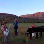 Utah-Tube: Jenny Oaks Baker performs patriotic 'Hoedown' with her four children