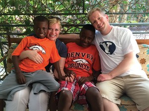 Four long years after beginning the process to adopt two boys from the Democratic Republic of the Congo, the Grovers finally brought them home.