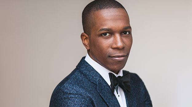 "Leslie Odom Jr., best know for his role as Aaron Burr in the Tony Award-winning ""Hamilton,"" will perform at BYU on September 2–3. (Photo courtesy BYU"