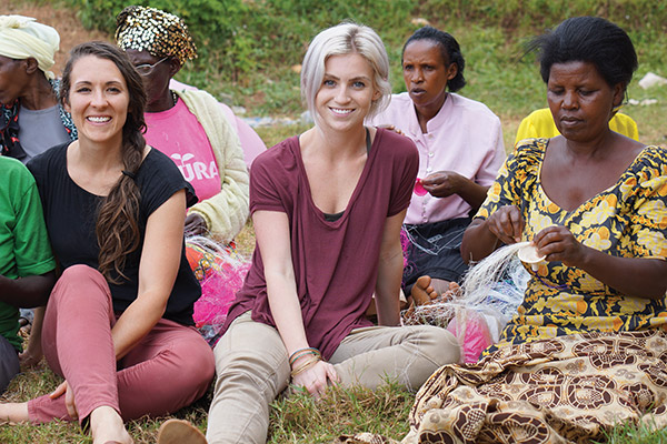 Melissa Sevy and Linden Baker employ women around the world and teach them to be self-sustainable as part of Musana Jewelry.