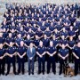 Provo Mayor John Curtis posted this picture of him with the Provo Police Department on his blog.