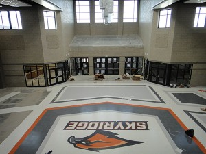The Common Area at Skyridge High.