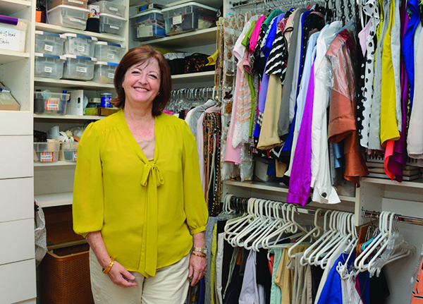 """Vicki Winterton was a brand-new empty nester when advice from a guest star on """"Oprah"""" hit home. """"This career professional said, 'Do something with your life that allows you to enjoy every day.' When I thought about what I enjoy doing, I knew organizing was it, so I started my business,"""" Kathleen says. (Photo by Alisha Gallagher)"""