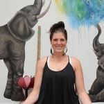Salutation to the fun: Brittany Andrews guides yogis at her rule-bending yoga studio