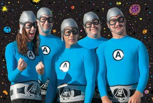 The Aquabats are headlining the August Rooftop Concert Series. (Photo courtesy Aquabats)