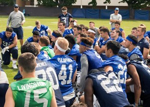 BYU football fall camp feature