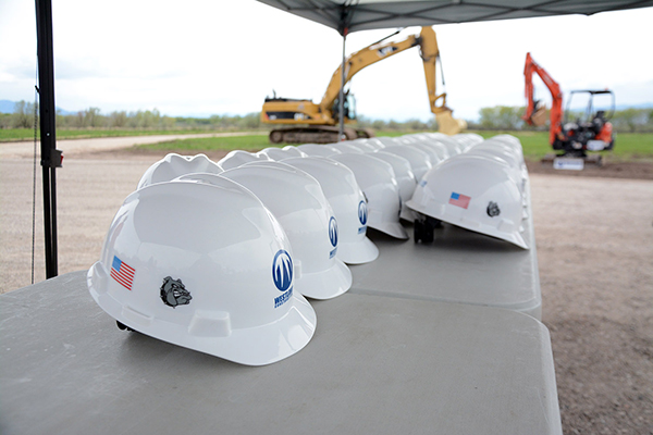 Construction at Provo High is underway, and the superintendent says the new high school will be completed in two years. (Photo by Rebecca Lane/UV360)