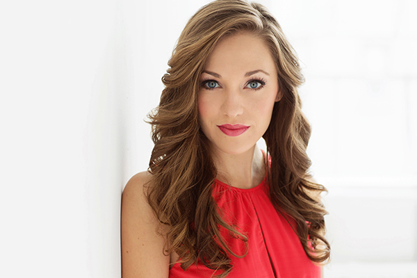 Laura Osnes and Mark Masri will perform with the Utah Valley Symphony at the SCERA Shell Outdoor Theatre on Saturday night. (Photo courtesy SCERA)