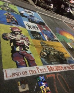 This chalk art won 1st place in the 2015 People's Choice award at Chalk the Block. (Photo courtesy Chalk the Block)