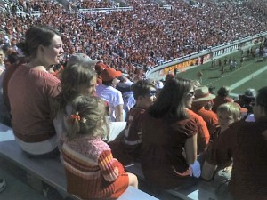 Cambri Spear's grandparents bought season tickets to the football games at the U, which she would attend with her family. (Photo courtesy Cambri Spear)