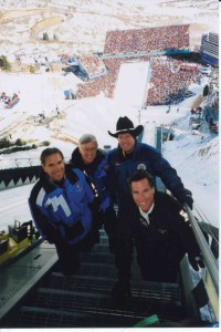 "Mitt Romney and Fraser Bullock headed the 2002 Olympics. ""Mitt is inspiring, brilliant and funny,"" Bullock says."