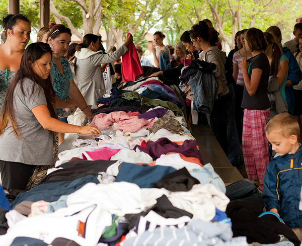 Free Swap, which creates a space for Utah County residents to exchange goos, is holding a swap day at Orem City Center Park on Saturday, Oct. 24 at 9 a.m. (Photo courtesy Free Swap)