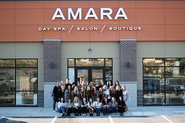 Amara Day Spa, Salon & Boutique hired 40 new workers for the opening of its Lehi location. (Photo courtesy Tyler Bennett)