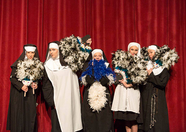 """Nunsense"" opens the SCERA's indoor season on Friday, Sept. 16.(Photo by Mark A. Philbrick)"