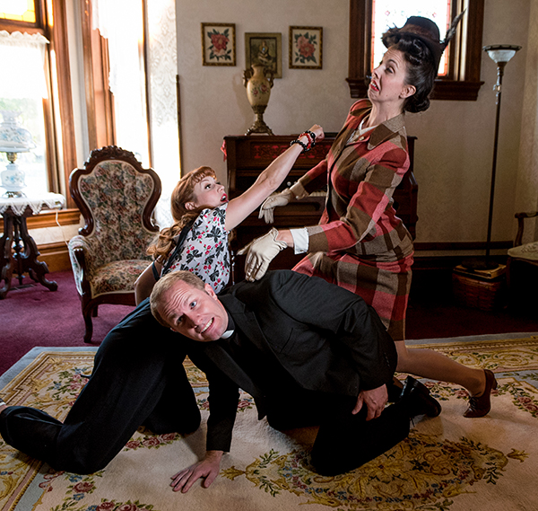"The Hale Center Theater Orem's production of ""See How They Run"" is a laugh-out-loud show. (Photo courtesy HCTO)"