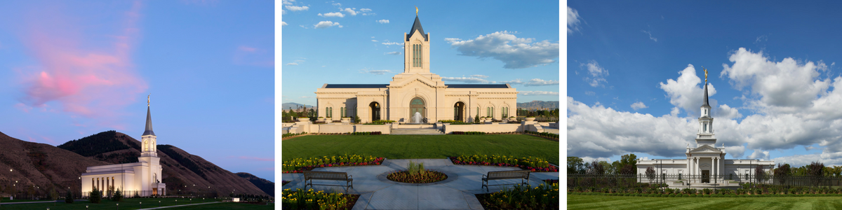 The Star Valley Wyoming Temple, Fort Collins Colorado Temple and Hartford Connecticut Temple will all be dedicated in 2016. (Photo by Mormon Newsroom)