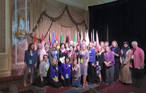 Big Ocean began in 2014 and has attended multiple UN events and the World Congress of Families (pictured). The Provo-based group shares the message that women of faith who embrace family and motherhood are the most critical change agents in the world and greatly impact communities, cities and the world for good. (Photo courtesy Big Ocean)