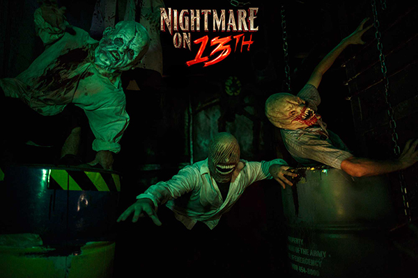 Nightmare on 13th, a haunted house in Salt Lake, has a variety of frightening characters including this mutant posse. (Photo courtesy Nightmare on 13th)