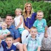 Zane Hansen and his wife, Fallon, are the busy parents of five children under 8 years old. They met on the airplane as they flew home from their LDS missions in Argentina.