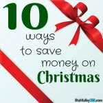 10 ways to save money on Christmas
