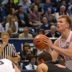 Eric Mika's aggressive play carries BYU to season-opener win