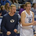 Young Cougar basketball team finds rhythm in win over Colorado