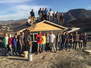 The Evans family leads a group of Builders Without Borders of Utah every Christmas to Mexico. (Photo courtesy Evans)