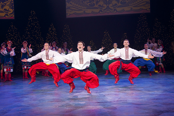 For the first time ever, Christmas Around the World is hosting a Pre-show Festival in the Marriott Center a prior to the performance. (Photo by Mark A. Philbrick)