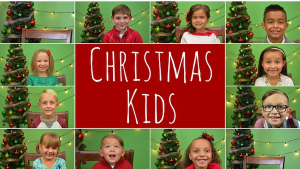 We interviewed 10 kids from Utah Valley about Santa Claus, his friends and playing in the snow. The videos will be released each week in December. (Photos by Utah Valley Magazine)