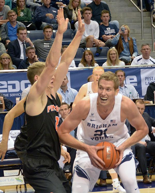BYU senior Kyle Davis will undergo a season-ending knee surgery this week. (Photo by UV360)
