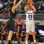 Pulsipher leads BYU women's basketball in noisy game win against Weber State