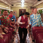 Utah-Tube: BYU Vocal Point and Stuart Edge take an a cappella winter train ride