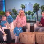 Utah-Tube: Gardner Quad Squad storms Ellen DeGeneres' show with cuteness