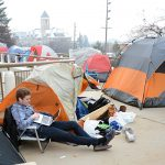 BYU ROC camping outside Marriott Center to fulfill 6th-man role against Gonzaga