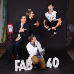 Behind the scenes: The Fab 40 photoshoot must go on