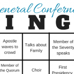 2017 LDS General Conference Bingo cards