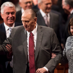 LDS Church President Thomas S. Monson hospitalized