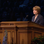 Sister Eubank encourages BYU Women's Conference attendees to embrace differences amongst women