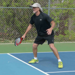 Pairing for pickleball: Tyler Sheffield and Larry Moon
