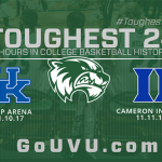 UVU basketball schedules non-conference games against Kentucky and Duke for 2017–18 season
