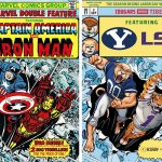 Kapow! ESPN and Marvel unveil comic cover for BYU-LSU game