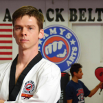 Taekwondo champion Jared Reed kicks it in Orem