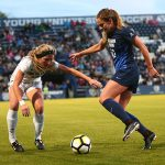 BYU and UVU sports weekend roundup: Volleyball teams dominate; BYU soccer tops UVU in Crosstown Clash
