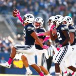 BYU and UVU sports weekend roundup: BYU cross country secures championship; BYU football snaps seven-game losing streak