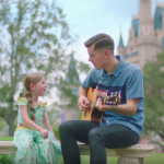 Adorable LDS father-daughter duo create music video for Disney