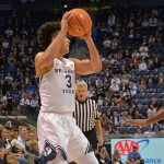 Bryant shines in BYU basketball season-opener, but poised Cougars win as a team