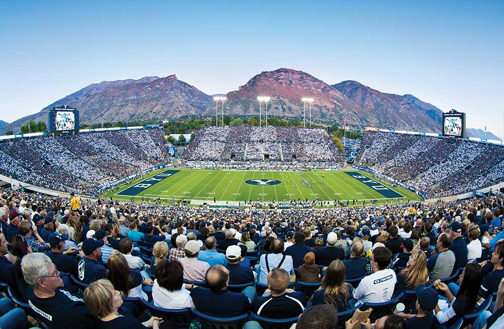 Image result for lavell edwards stadium